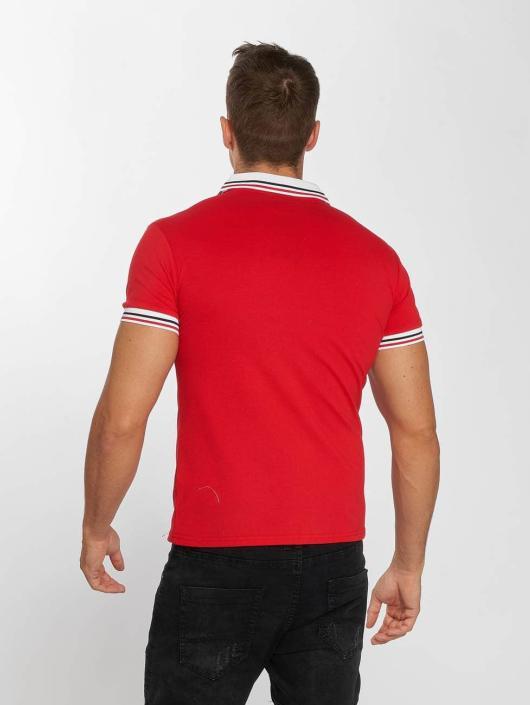 Aarhon Poloshirt Block Stripes red