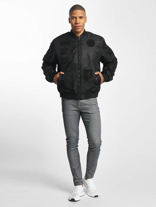 adidas originals Bomber jacket Logo Padded black