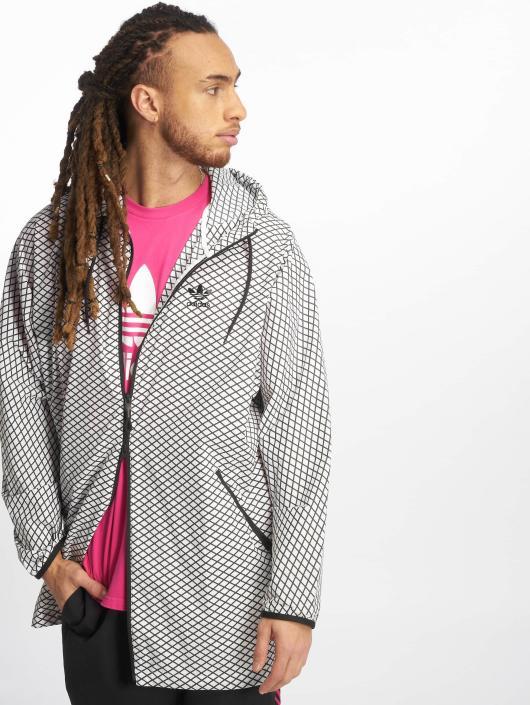adidas Originals Lightweight Jacket PLGN Grid white
