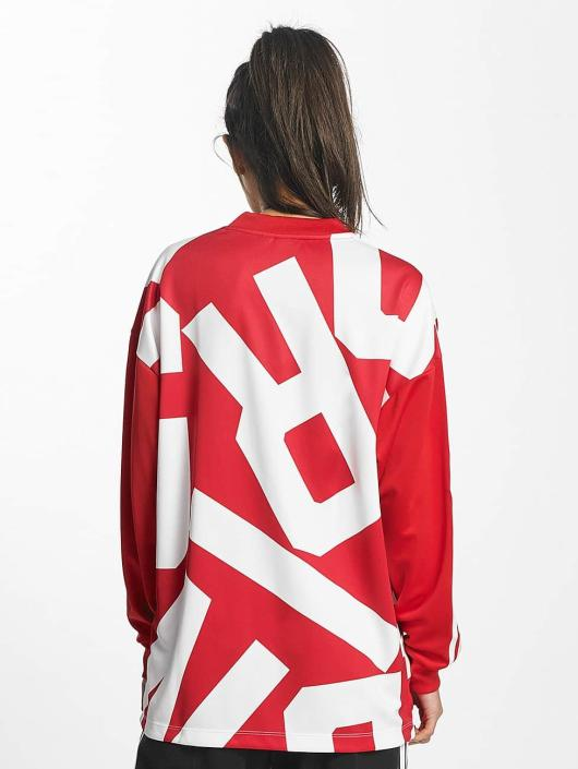 adidas originals Longsleeve Oversized Track red