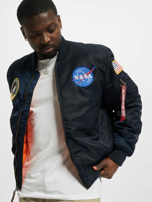 Alpha Industries Bomber jacket MA-1VF NASA blue
