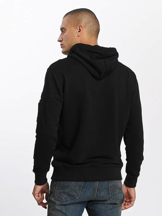 Alpha Industries Hoodie X-Fit black