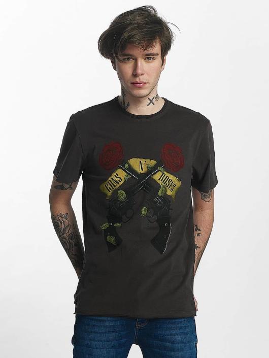 Amplified T-Shirt Guns N Roses Shooting Roses gray