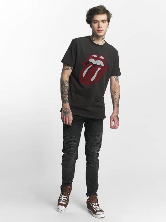 Amplified T-Shirt Rolling Stones Tongue Era gray
