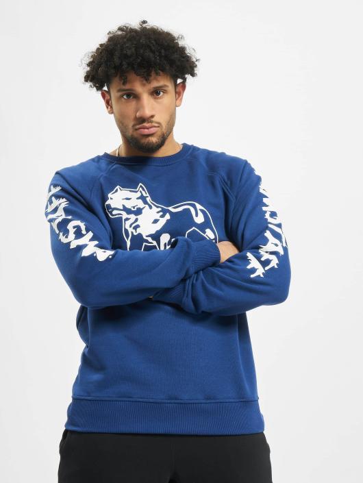 Amstaff Pullover Logo blue