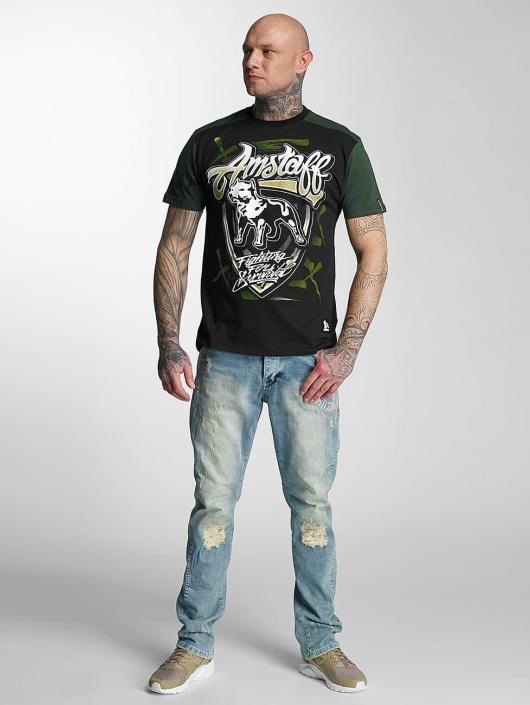 Amstaff T-Shirt Lizard black