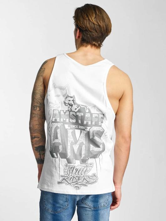 Amstaff Tank Tops Harson white