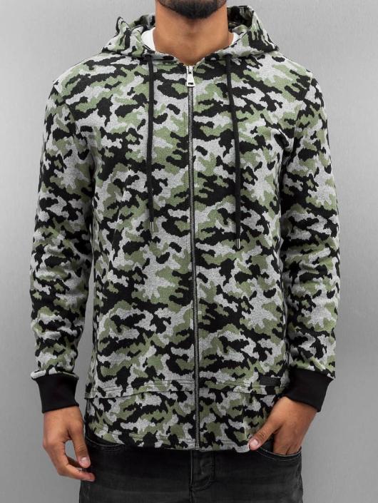 Bangastic Zip Hoodie Cona camouflage