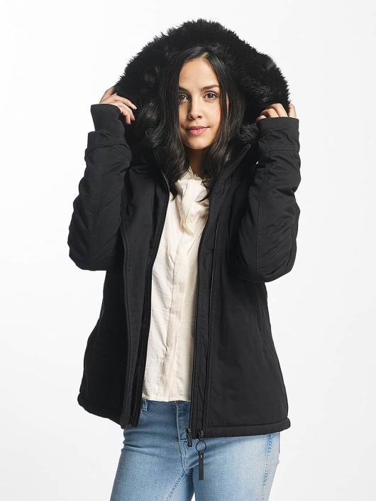 Bench Winter Jacket Asymmetric Functional black