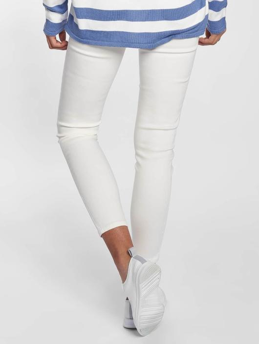 Blend She Skinny Jeans Bright Jazy Crop white