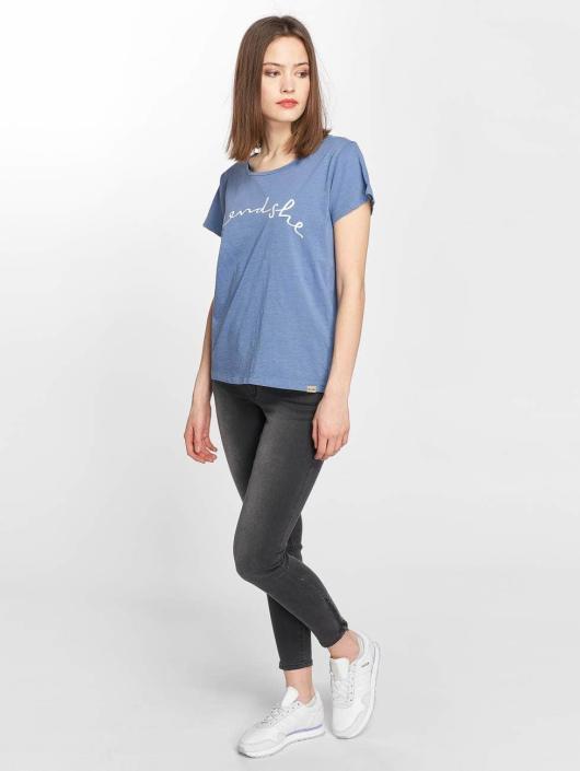 Blend She T-Shirt Cute R blue
