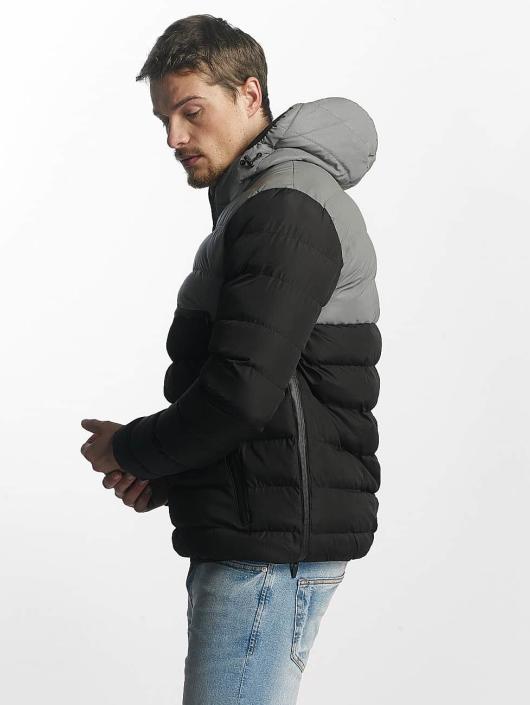 Brave Soul Puffer Jacket Breaker black
