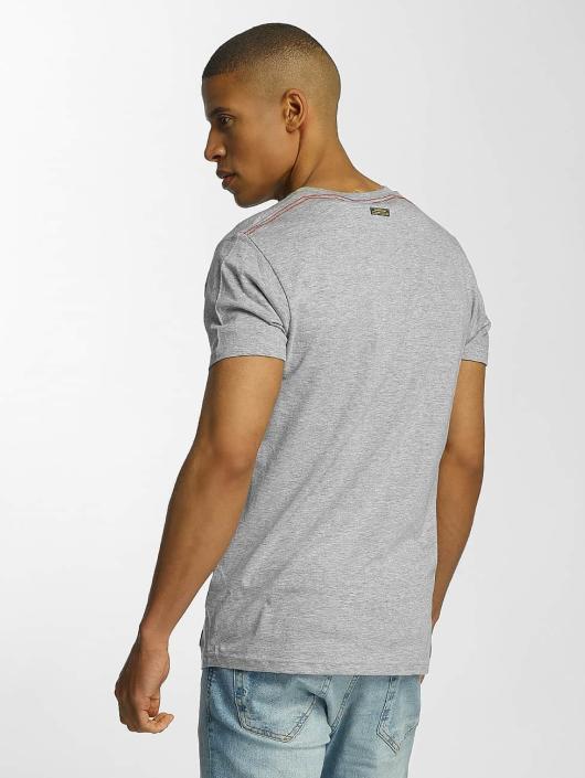 Brave Soul T-Shirt Crew Neck Set gray