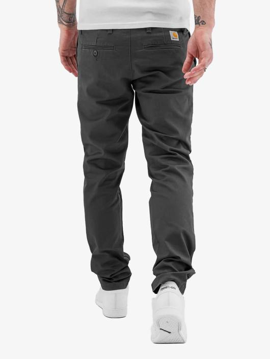 Carhartt WIP Chino pants Lamar Slim Fit Sid gray