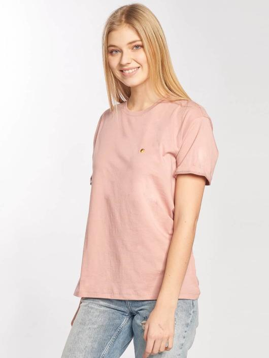 Carhartt WIP T-Shirt Chase rose