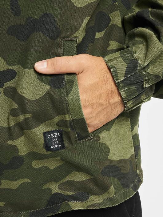 Cayler & Sons Lightweight Jacket ALLDD Denim Half Zip camouflage