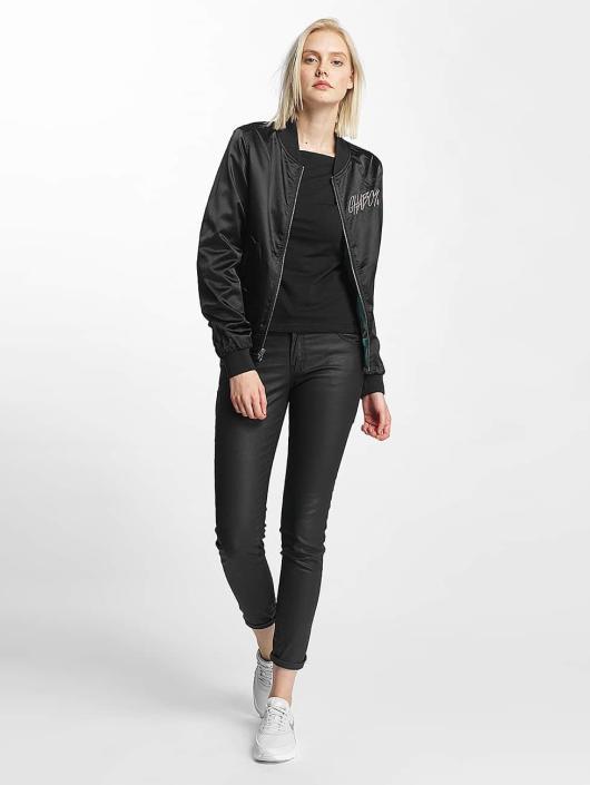 CHABOS IIVII Bomber jacket Reversible Bomber black