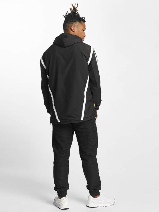 CHABOS IIVII Lightweight Jacket Half Zip Hooded black