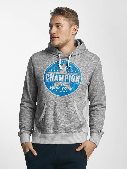 Champion Athletics Hoodie New York gray