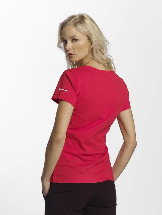 Champion Athletics T-Shirt V-Neck T-Shirt Llr red