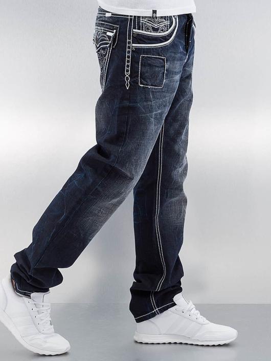Cipo & Baxx Straight Fit Jeans Blackpool blue