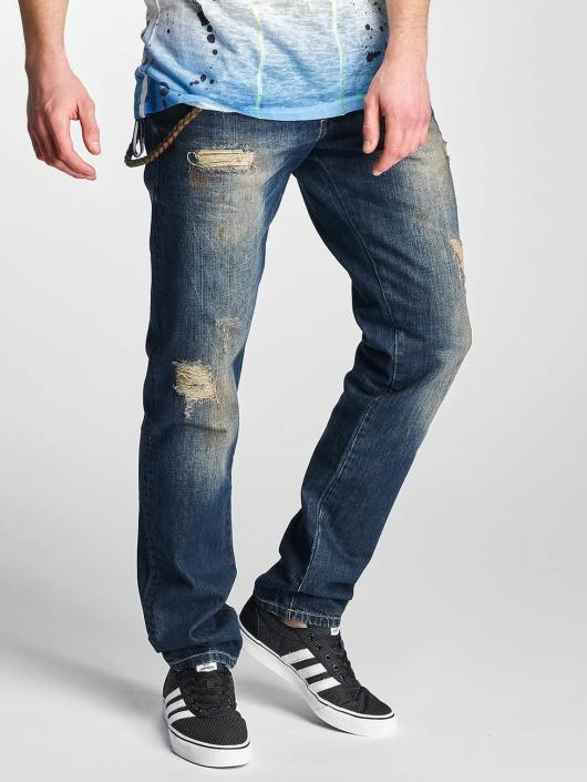 Cipo & Baxx Straight Fit Jeans Shaquan blue