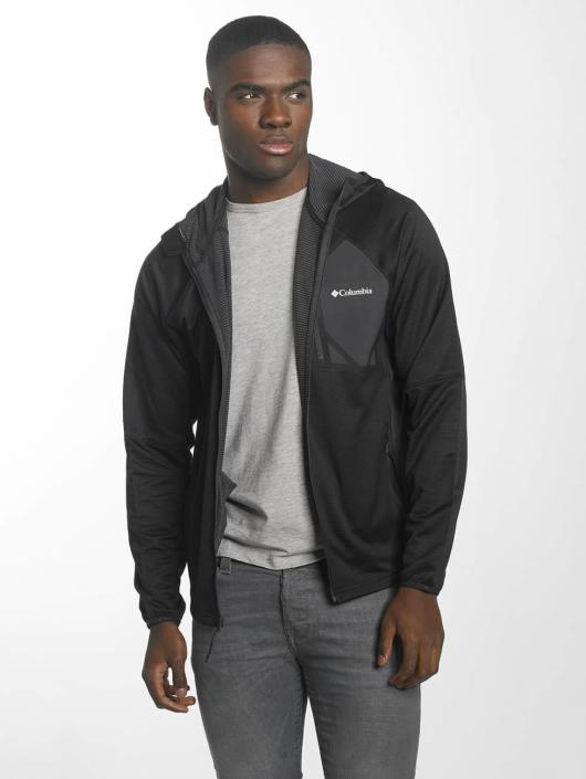 Columbia Lightweight Jacket Triple Canyon Hooded Fleece black