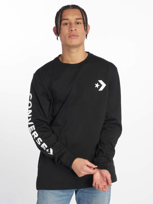 Converse Longsleeve Star Chevron Wordmark black