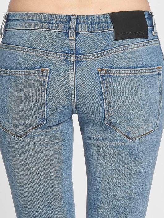 Criminal Damage Skinny Jeans Curtis blue