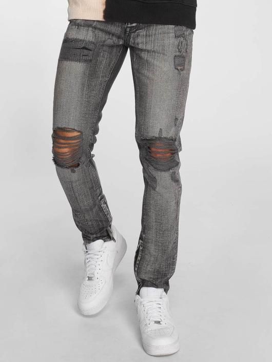 Criminal Damage Skinny Jeans Carter gray