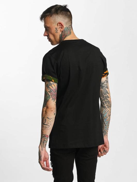 Criminal Damage T-Shirt Dazzle black