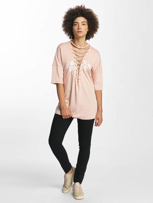 Criminal Damage T-Shirt Prinston pink