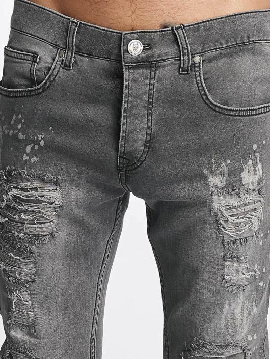 De Ferro Slim Fit Jeans Brady gray