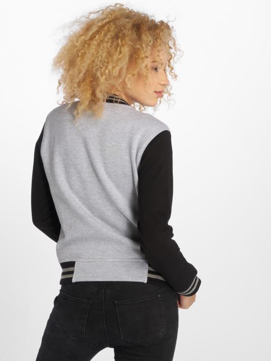 DEF College Jacket Sugar gray