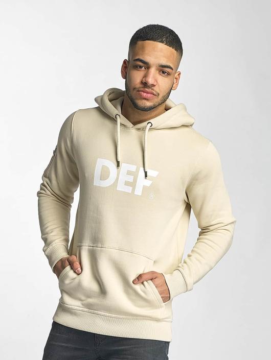 DEF Hoodie Logo beige
