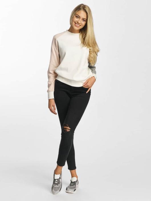 DEF Pullover Colorblocking white