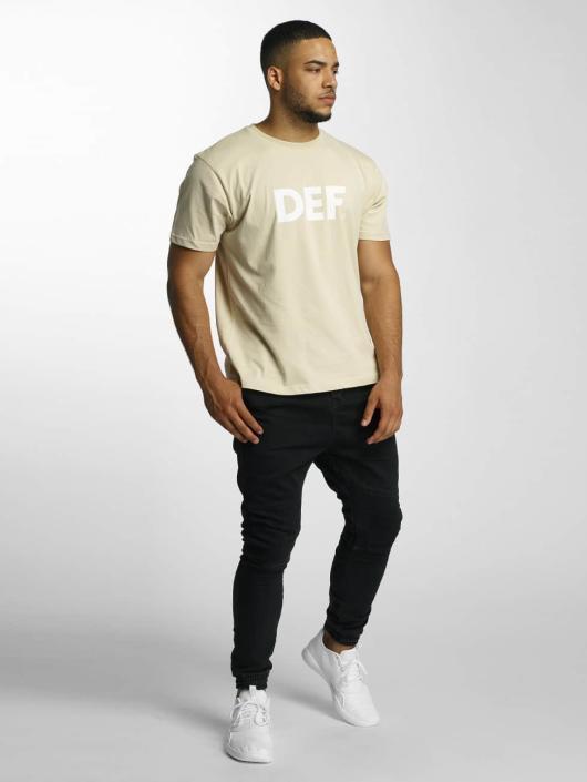 DEF T-Shirt Her Secret beige
