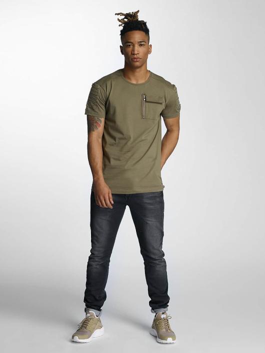 DEF T-Shirt Leats olive