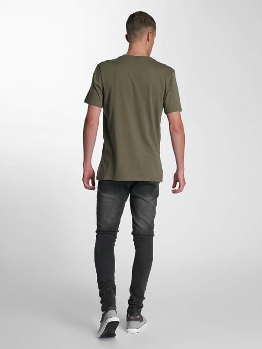 Electric T-Shirt Script olive