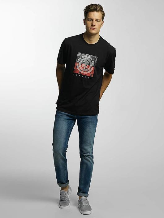 Element T-Shirt Log Jam black