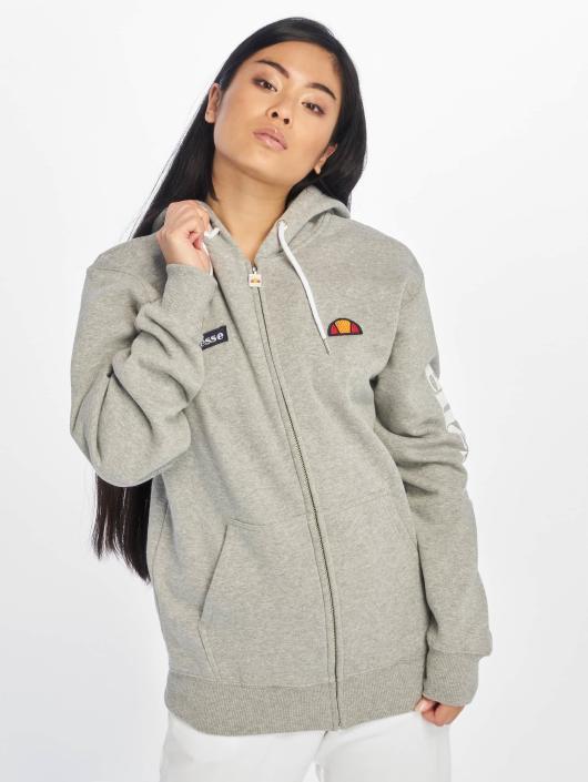 Ellesse Zip Hoodie Serinatas gray