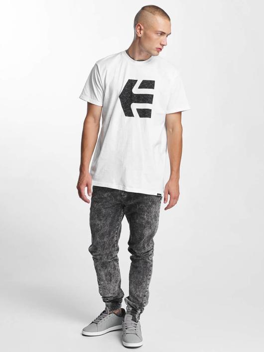 Etnies T-Shirt Icon Fill white