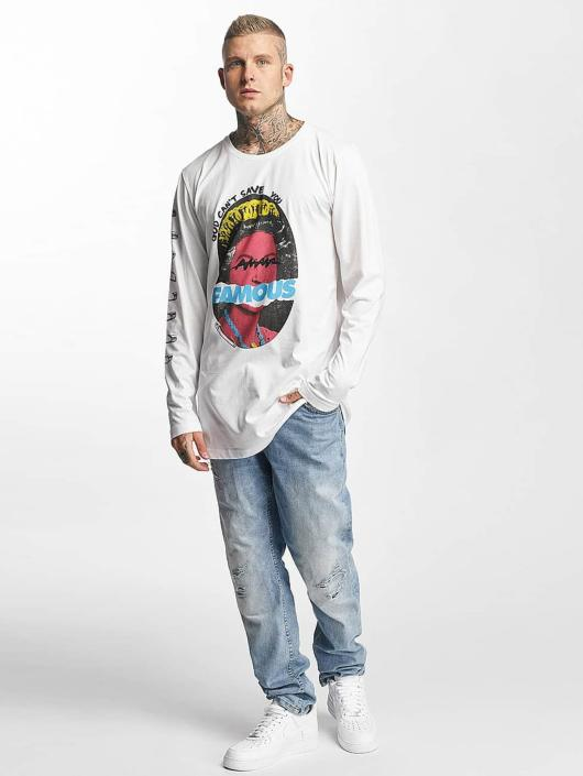 Famous Stars and Straps Longsleeve God Cant Save white