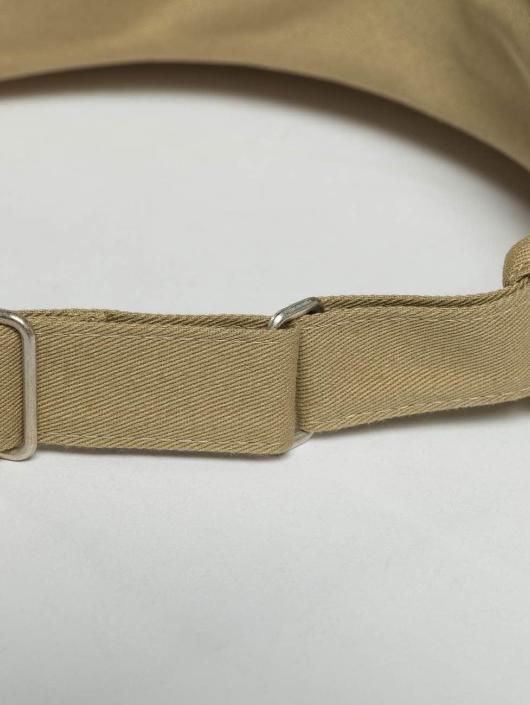 Flexfit Snapback Cap Flat Round Visor khaki