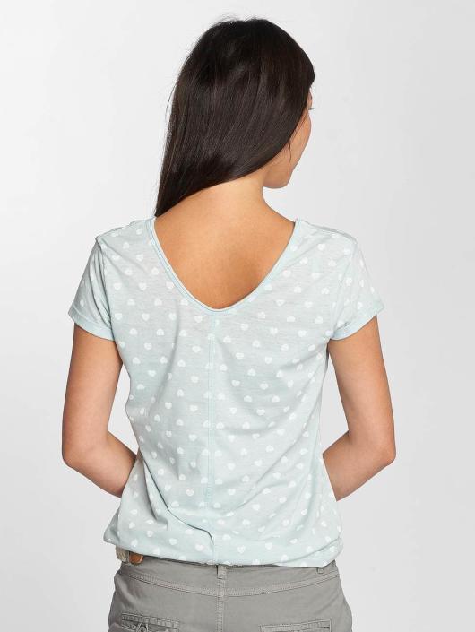 Fresh Made T-Shirt Hearts blue