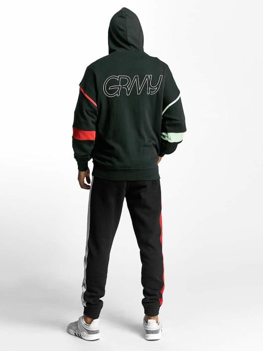 Grimey Wear Zip Hoodie Half Court Line green
