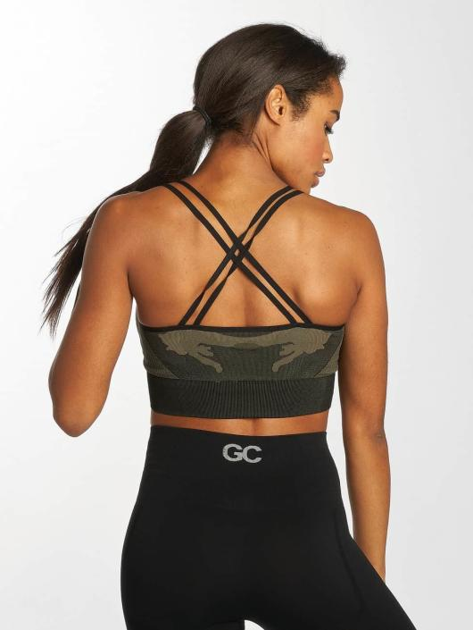 GymCodes Sports Bra Flex Cross camouflage