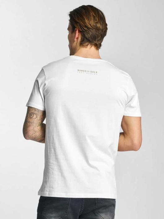 Hands of Gold T-Shirt Oldschool white
