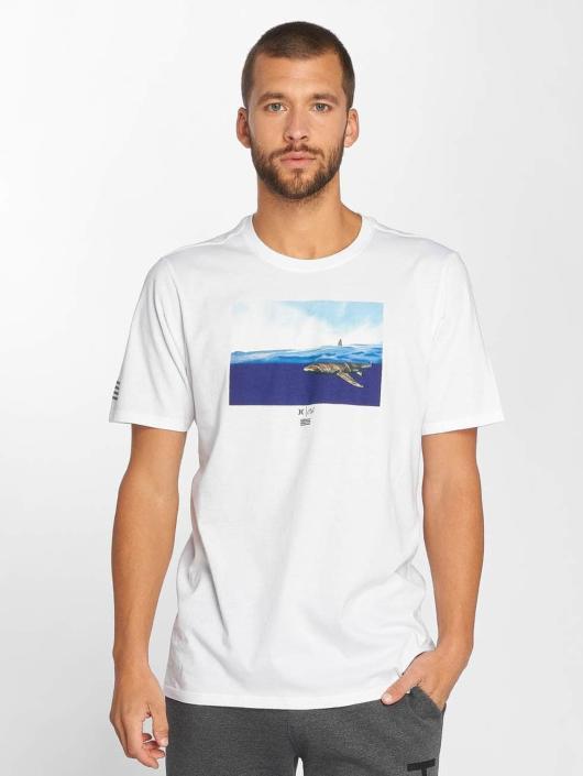 Hurley T-Shirt Premium Clark Week white