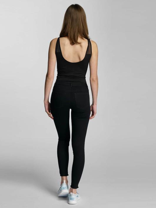 JACQUELINE de YONG Skinny Jeans jdySkinny Low Holly Ancle black